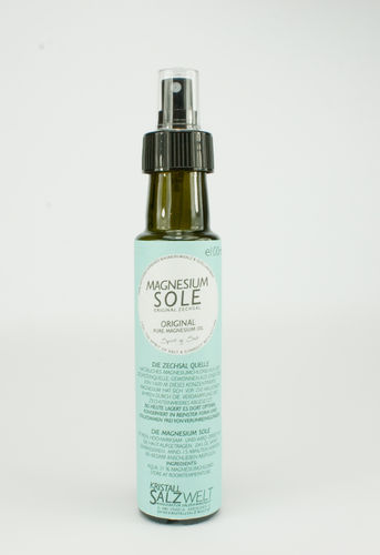 Magnesium Sole; Glas Pumpspray; e 100ml